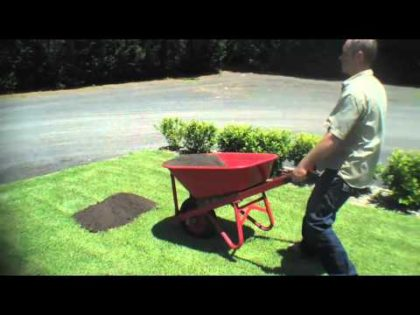 Top Dressing Your Lawn